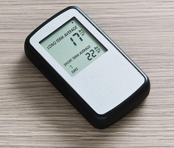 Mätning av radonhalt med hjälp av en digital radonmätare